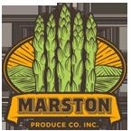 Gluten Free Apsaragus Eat More! ~ Marston Produce Inc. Logo